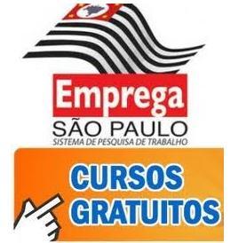 emprega sp cursos Emprega SP Cursos Grátis   Inscrições, Vagas